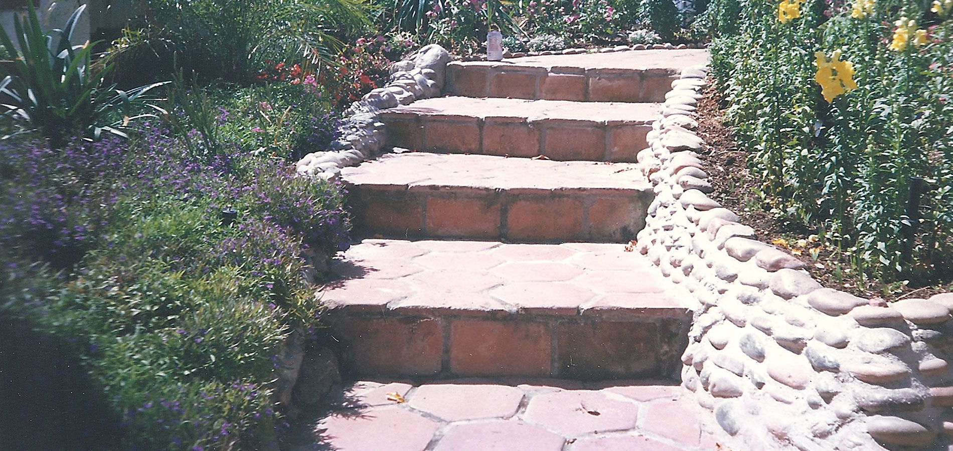 Landscaping Rock Yankton Sd : Flagstone stairs